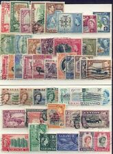British Commonwealth KGVI, QE OLDER COLLECTION 60+ with Higher Values (2 SCANS)