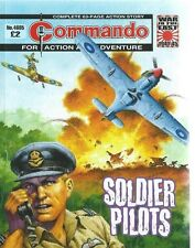 SOLDIER PILOTS,COMMANDO FOR ACTION AND ADVENTURE,NO.4685,WAR COMIC,2014
