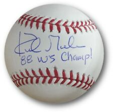 Kirk Gibson Signed Autographed MLB Baseball Los Angeles Dodgers 88 WS Champs JSA