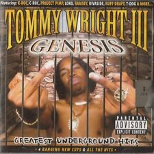TOMMY WRIGHT III - GENESIS (GREATEST UNDERGROUND HITS) U.S. 2CD 2000 24 TRACKS