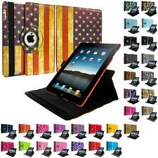 360 Rotating Color Magnetic Case Cover Stand for iPad 4th 3rd 2nd Gen 4/3/2