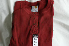 CARHARTT FOR WOMEN LONG SLEEVE HENLEY SHIRT NEW WOMEN'S WK001