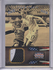 2012 Americana Heroes and Legends Materials Silver Proofs #120 Tobin Heath /25