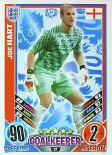 MATCH ATTAX EURO STARS 2012 IRELAND Edition - ENGLAND - selection - TOP MINT
