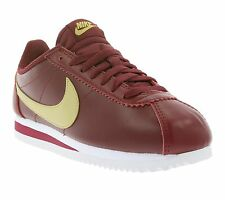 NEW NIKE WMNS Classic Cortez Leather Shoes Women's Sneaker Trainers Red Sports