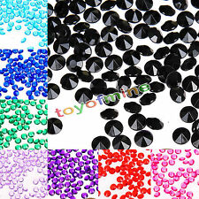 4.5mm 1/3ct Diamond Table Confetti CRYSTALS Wedding Party Decorations