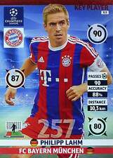 PANINI UEFA CHAMPIONS LEAGUE 2014-15 - KEY PLAYER selection - TOP MINT