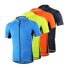 Men's Outdoor Breathable Quick Dry Slim Fit Cycling Sports Jersey Biking Jackets