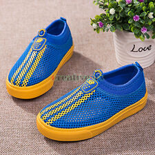 Fashion Kids Girls Boys  Sport Shoes Breathable Mesh Shoes Sneakers Casual Shoes