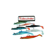 SIDEWINDER SUPER HOLOGRAPHIC SAND EELS ALL COLOURS 6""