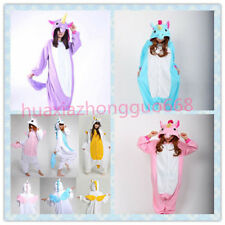 Unicorn Tenma Kigurumi Pajamas Animal Cosplay Costume Unisex Onesie Sleepwear567