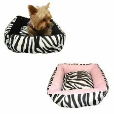 New Cotton Pet Dog Soft Fleece Warm Bed Puppy House Nest with Plush Mat Pad