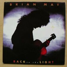 "BRIAN MAY BACK TO THE LIGHT 7"" 1992 WITH NOTHIN' BUT BLUE UK"