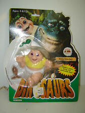 rare baby Sinclair from Walt Disney's dinosaurs mint in sealed card by Hasbro