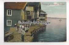 ft1467 - Sweden - Fishing Village on the West Coast - postcard