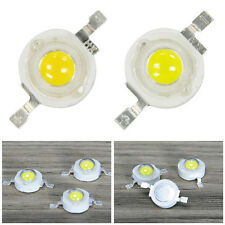 10 PCS 1W 3W Cool/Warm White High Power 35MIL 45MIL Led Light Bulb Lamp Beads