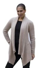 Women's Soft Alpaca Wool Knitted Knit Cardigan Open Coat Sweater Soft Warm Sz M