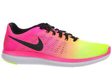 NEW MENS NIKE FLEX RUN RN 2016 RUNNING SHOES TRAINERS MULTI COLOR
