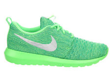 NEW WOMENS NIKE ROSHE ONE RUNNING SHOES TRAINERS VOLTAGE GREEN / WHITE / LUCID