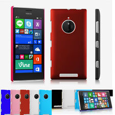 Hard Silicone Case Matte Plain Protective Back Cover For Nokia Micsoft Lumia 520