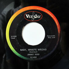 JIMMY REED-BABY WHAT'S WRONG /AW SHUCKS HUSH YOUR MOUTH ON VEE JAY R&B BLUES
