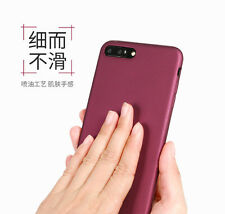 For iphone 7/7 Plus Elegant Soft 360° Protection Silicone TPU Matte Cover Case