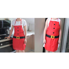 Adult Apron Christmas Holiday Gift Accessory Chef Kitchen Cook Restaurant Tool