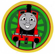 """5-8"""" THOMAS THE TRAIN TANK  CHARACTER  WALL SAFE STICKER BORDER CUT OUT"""