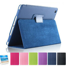 1*Practical Flip Stand Holder PU Leather Case Cover Protector for iPad Mini 1/2