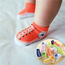 Shoes Cute Baby Girl Boy Anti-slip Socks Slipper Socks Shoes Boots 6-18 Months