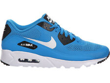 NEW MENS NIKE AIR MAX 90 ULTRA RUNNING SHOES TRAINERS HERITAGE CYAN / BLACK / WH