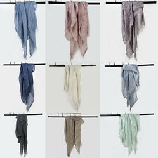 New Arrival Winter Long Cotton Scarf Wrap Women Girl Lady Shawl Large Hemp Scarf
