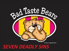 BAD TASTE BEAR SEVEN DEADLY SINS COLLECTION CHOOSE A BEAR PETE UNDERHILL