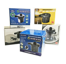 Electric AirPump ~ 12v Car ~ 240v Mains Plug ~ Reachargeable ~ Battery Power