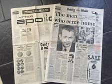 Original 1969 Daily Mail Newspaper Men on the Moon Special Space Interest