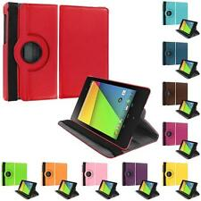For Asus Google Nexus 7 2nd Generation 2013 2 II 360 Rotating Leather Case Cover