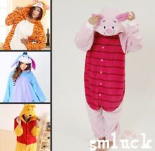 HOT Adult Disney Winnie-The-Poot Costume Kigurumi Pajamas Cosplay Onesie/Pyjamas