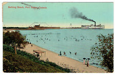 Bathing Beach, Port Dover, Ontario Post Card