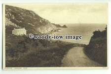 tp9327 - Cornwall - On the Road down to Lamorna Cove, in Penzance - postcard