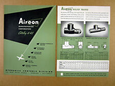 1945 Aireon Hydraulic Controls Aircraft Products Test Bench Stand print Ad