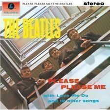 BEATLES Please Please Me LP VINYL 14 Track Stereo Reissue Remastered With Orig