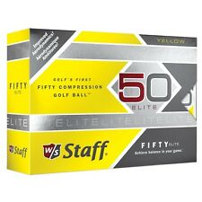1 Dozen Wilson Fifty Elite Yellow Golf Balls