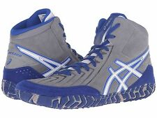 ASICS AGGRESSOR 2 ALUMINUM BLUE MENS WRESTLING SHOES **FREE POST AUSTRALIA