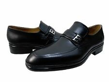 Bally Mens Nevio Bit Strap Slip On Moc Toe Business Casual Loafers Dress Shoes