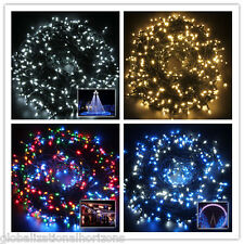 50/100M Christmas Xmas Garden Party Wedding LED String Fairy Light Bar Twinking