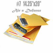 #7 14.25x20 KRAFT BUBBLE MAILERS PADDED ENVELOPES BAGS SELF SEAL AirnDefense