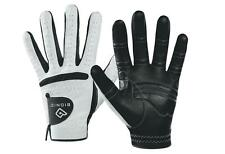 3 Bionic Relax Grip Golf Gloves Black Palm  Right Hand Mens (for LH golfer)
