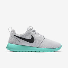 "Nike Roshe One ""Calypso"" Pure Platinum Wolf Grey Black Run 511881 013"