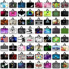 """10"""" Laptop Sleeve Bag Case Pouch +Handle For Ipad 1,2,3,4 Ipad Air 1 2 W/cover"""