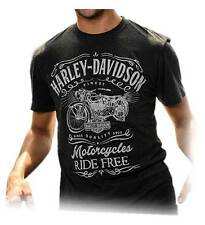 Harley-Davidson Men's Timepiece Motorcycle Short Sleeve T-Shirt, Vintage Black